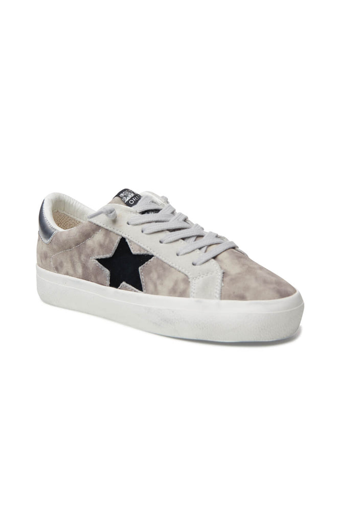 Vintage Havana Kelsey Washed Grey Star Sneakers
