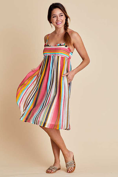Listicle Stripe Sun Dress
