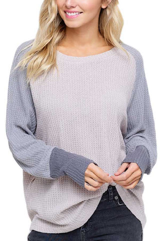 Listicle Thermal Long Sleeve Tee