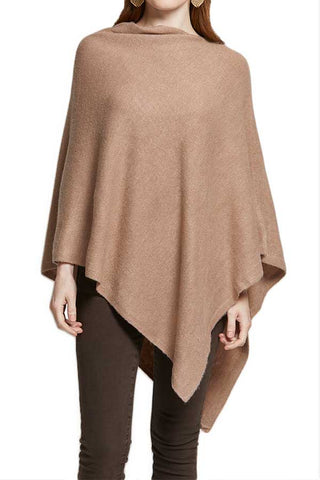 Look B M Cashmere Blend Poncho (available in black and taupe)