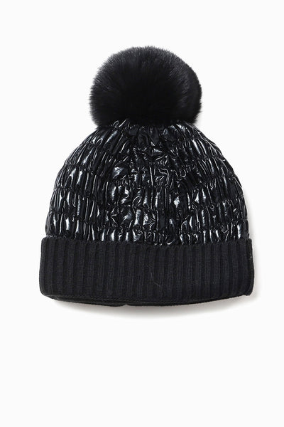 Look by M Puffer Hat