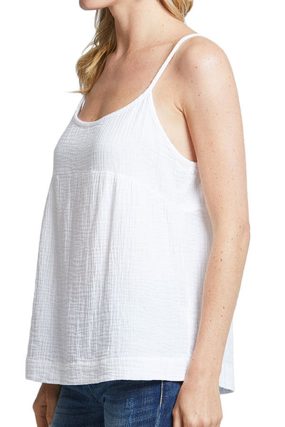 Love Stitch Cotton Gauze Tank