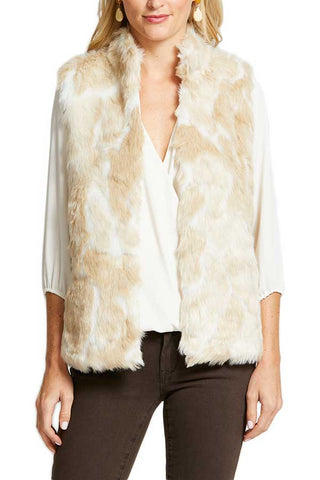 Jack by BB Dakota Fur What Faux Fur Vest