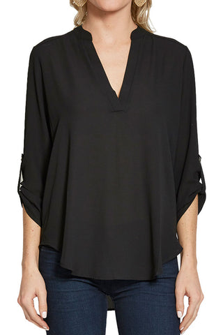Lush Roll Tab Black Top