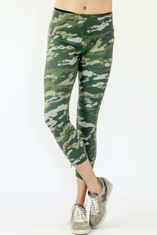 Lysse Camo Cropped Leggings