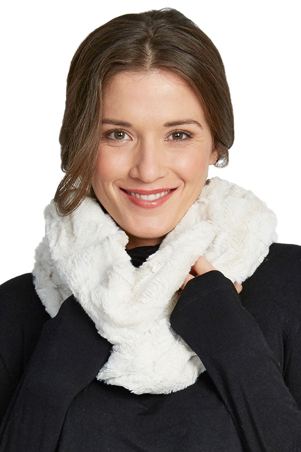 Melody Faux Fur Infinity Scarf