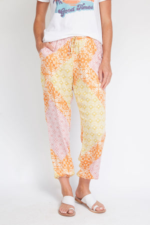 Load image into Gallery viewer, Olivaceous Multi Printed Joggers