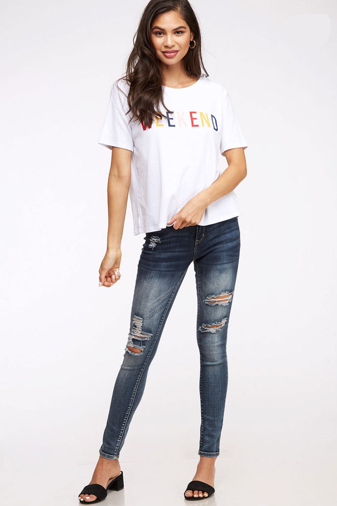 Peach Love California Weekend Tee