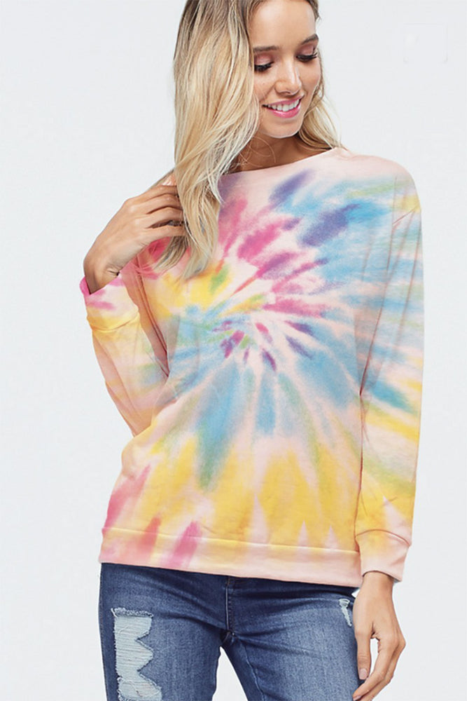 Phil Love Tie Dye Top