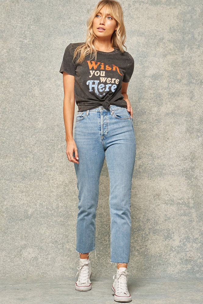Load image into Gallery viewer, Promesa Wish You Were Here Graphic Tee