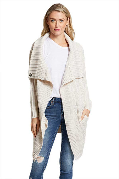 RD Style Cable Wrap Sweater Coat