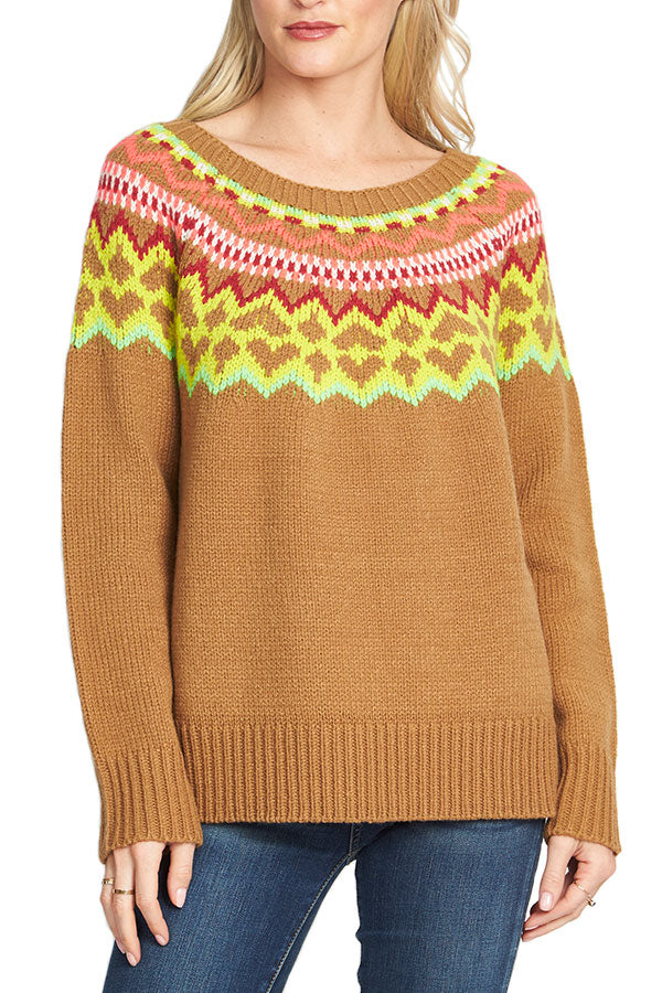 RD Style Crewneck Fairisle Sweater – Social Threads