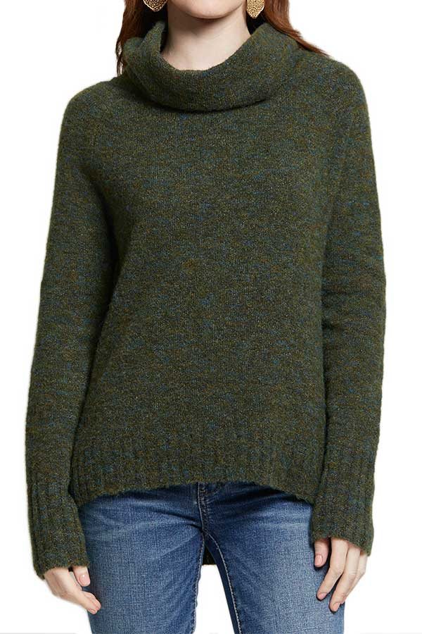RD Style Cowlneck Sweater (also available in black)