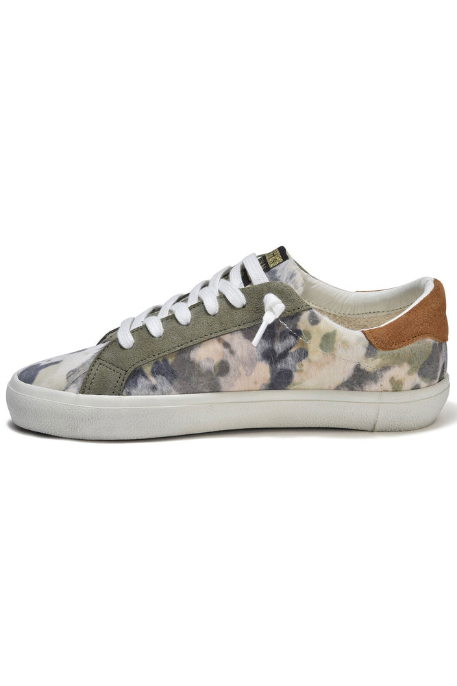 Vintage Havana Repeat Camo Calf Hair Sneakers