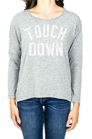 "Retro Brand ""Touchdown"" Long Sleeve Tee"
