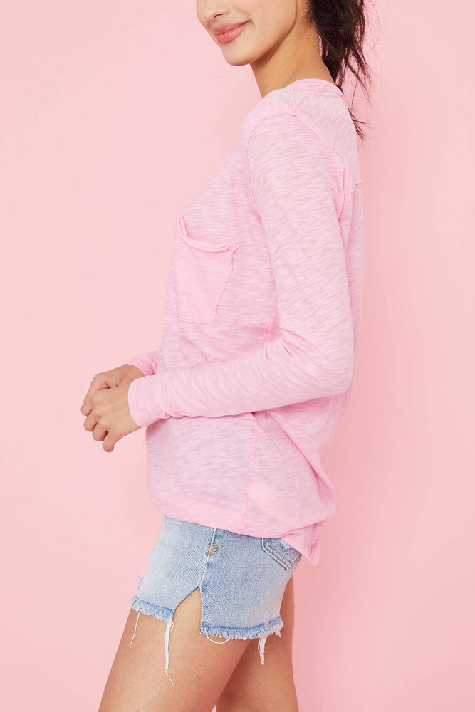 Free People Betty Long Sleeve Tee (2 colors)