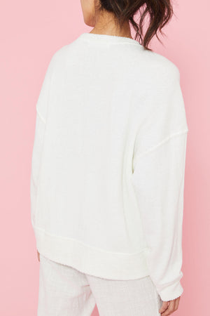 Load image into Gallery viewer, Ocean Drive Terry Boxy Crewneck