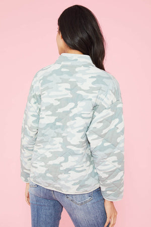 Load image into Gallery viewer, Z Supply Maya Quilted Camo Jacket