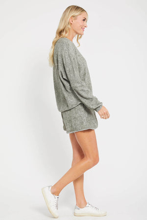 Listicle Terry Cloth Short Set