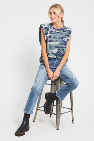 Rd Style Camo Padded Shoulder Tee