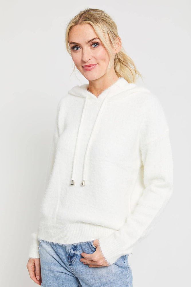 Load image into Gallery viewer, Papermoon Eyelash Hoodie
