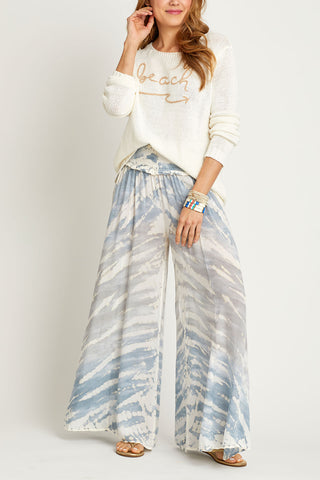Surf Gypsy Grey/Ivory Beach Pants