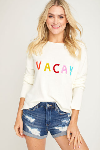 Le Lis Vacay Sweater