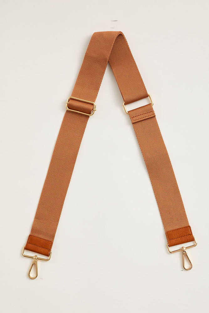 Solid Cotton Weave Bag Strap