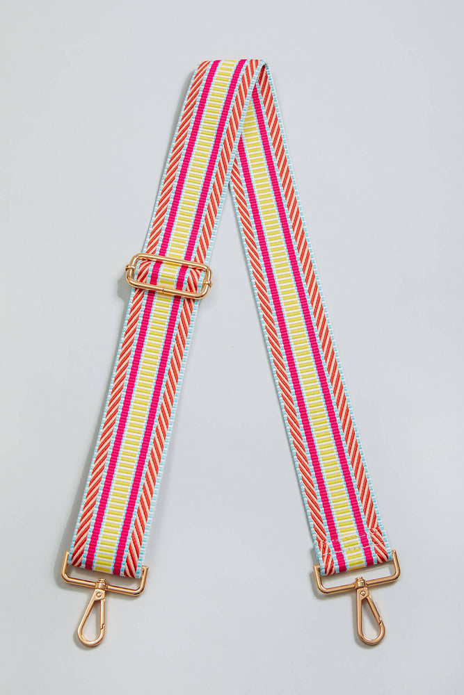 Load image into Gallery viewer, Spring Diagonal Stripe Bag Strap