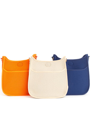 Perforated Neoprene Messenger Bag