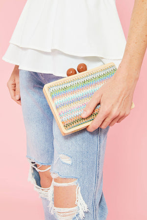 Load image into Gallery viewer, Shiraleah Farrah Multi Clutch