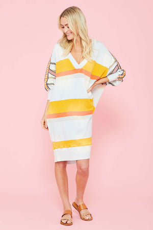 Free People Stripe Bonanza Oversized Dress