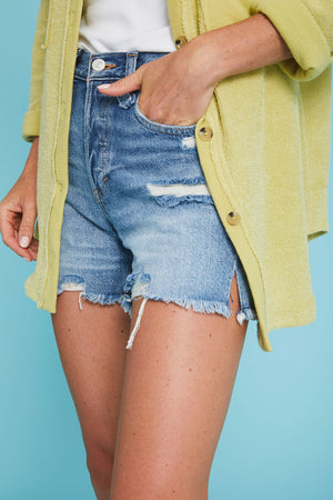 Load image into Gallery viewer, Free People Makai Cut Off Shorts