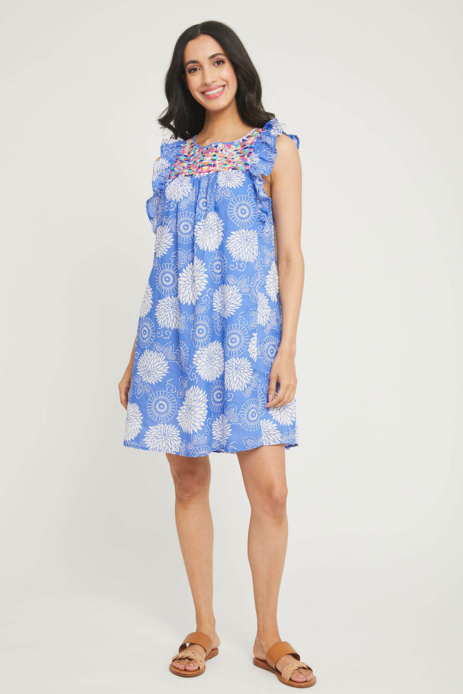 THML Floral Embroidered Dress