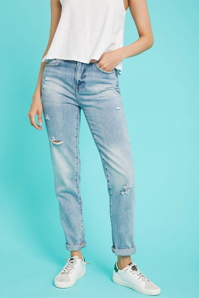 Load image into Gallery viewer, Pistola Presley Boyfriend Jeans