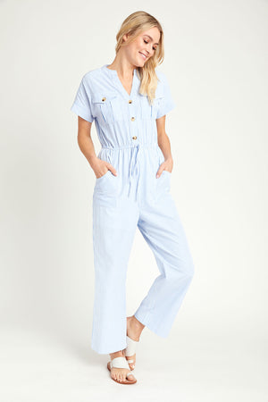 Load image into Gallery viewer, Andree by Unit Striped Jumpsuit