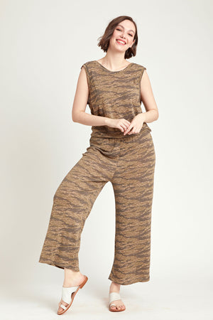 Load image into Gallery viewer, Alternative Sleeveless Cropped Jumpsuit
