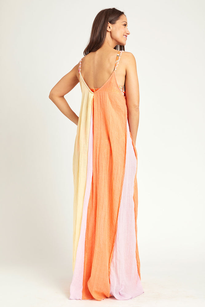 Elan Colorblock Coverup