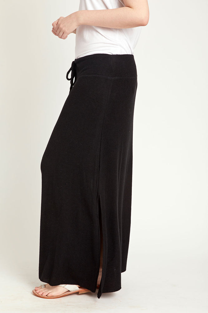 Load image into Gallery viewer, Gibson Drawstring Waist Maxi Skirt (Plus Size)