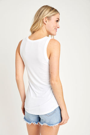 Z Supply Jersey U-Neck Tank