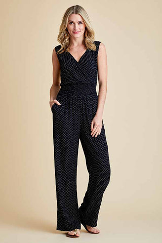 RD Style Polka Dot Jumpsuit