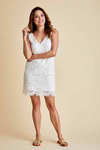 BB Dakota Lost In Lace Ivory Dress