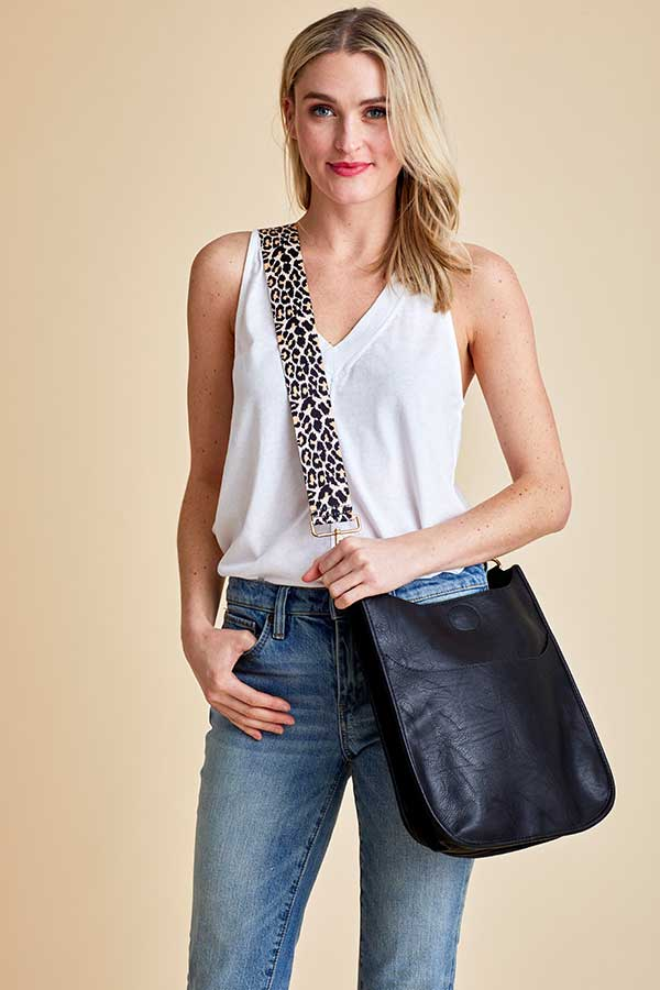 Load image into Gallery viewer, Leopard Bag Strap (Original)
