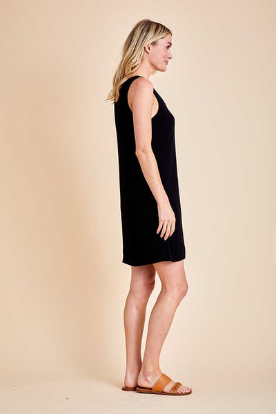 BB Dakota Sundowner Crepe Button Front Dress