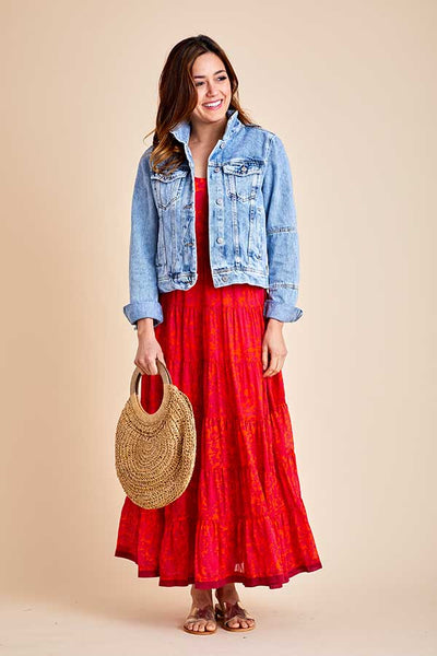 Free People Kika's Printed Maxi Dress