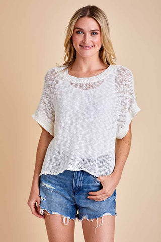 Jack Couples Retreat Dolman Short Sleeve Sweater