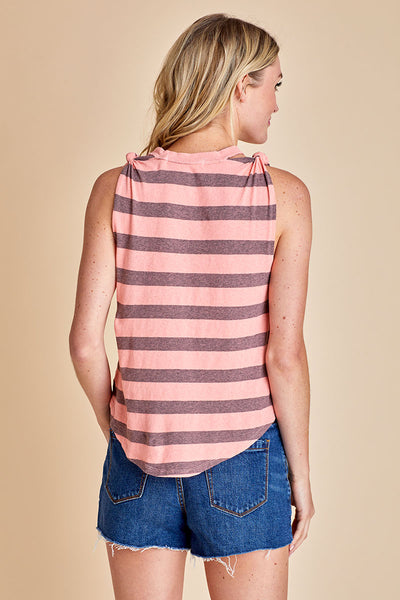 Free People Stripe Twist Tank