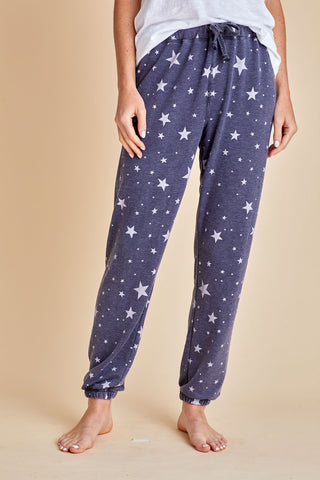 Vintage Havana Washed Star Navy Sweatpants