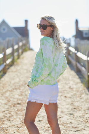 RD Style Tie Dye V-Neck Sweater