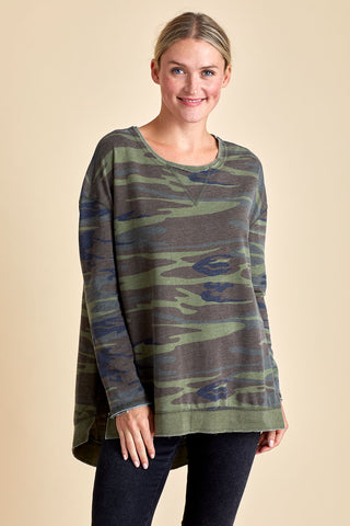 Z Supply Camo Weekender Sweatshirt